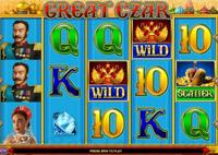 Игровые аппараты онлайн Great Czar (Великий царь)