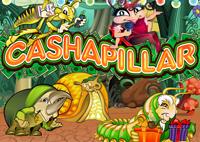 Играть бесплатно в игровой автомат Cashapillar (Жучки)