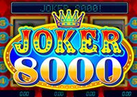 Играть бесплатно и без регистрации в автомат Joker 8000 (Джокер)
